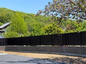 群馬外構ブロックと目隠しフェンス
