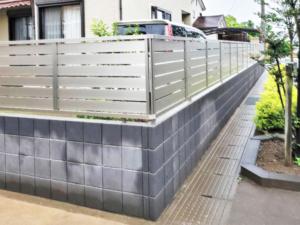 太田市フェンス施工例